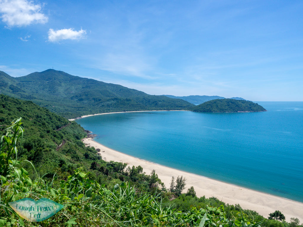 beach Hai van pass danang vietnam - laugh travel eat