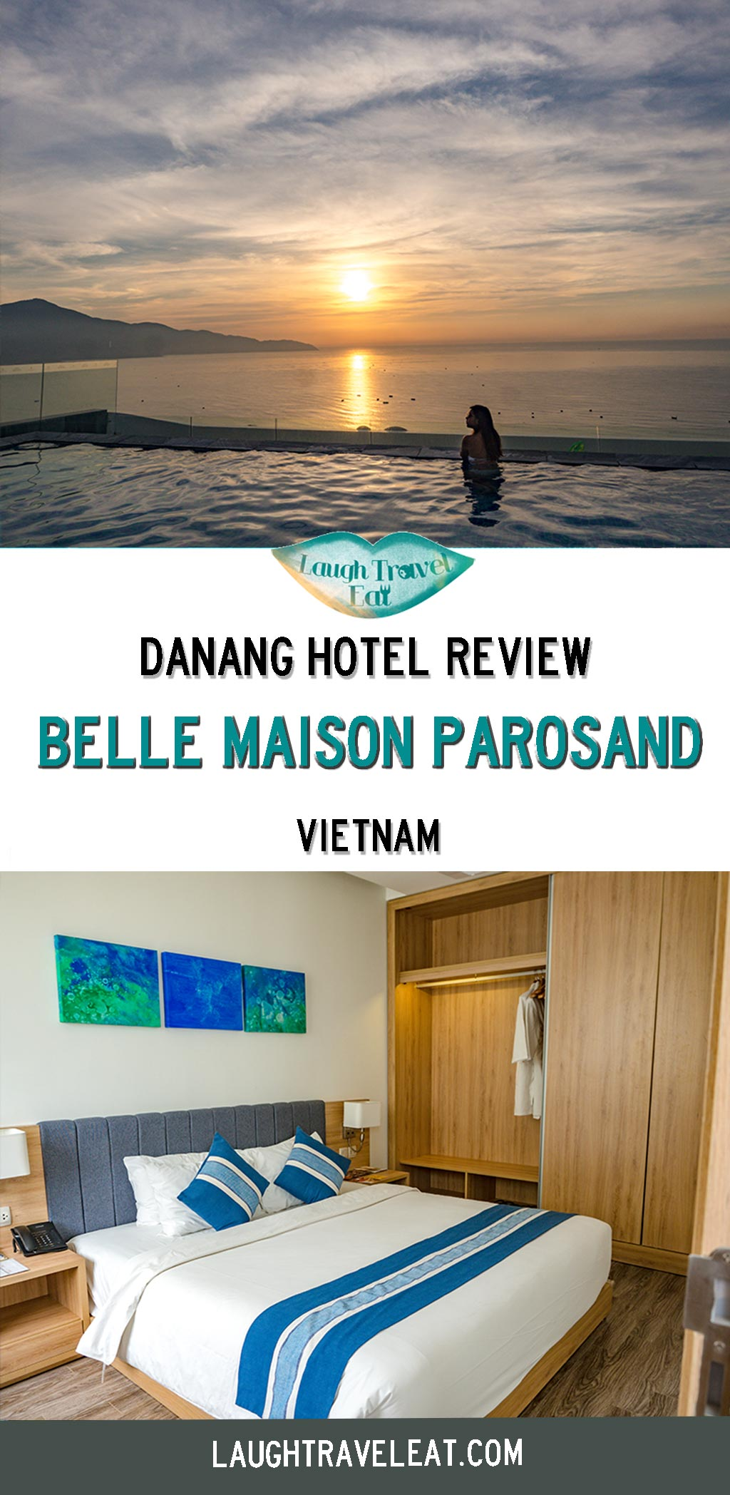 Belle Maison Parosand Danang and Belle Maison Hoi An are great choice for your Central Vietnam trip, here are a review of the hotels: