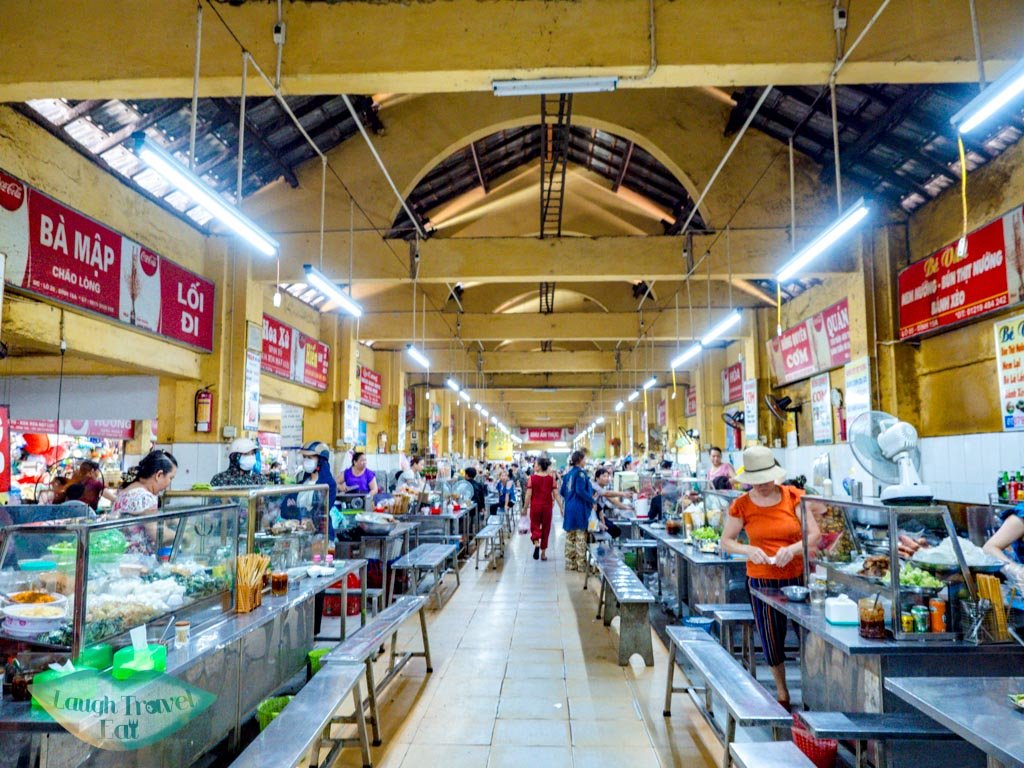 con market food court danang vietnam - laugh travel eat