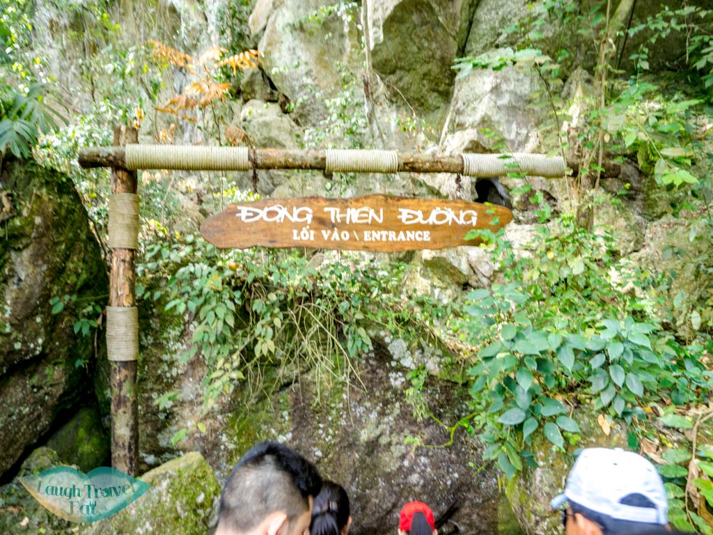 entrance paradise cave phong nha vietnam - laugh travel eat