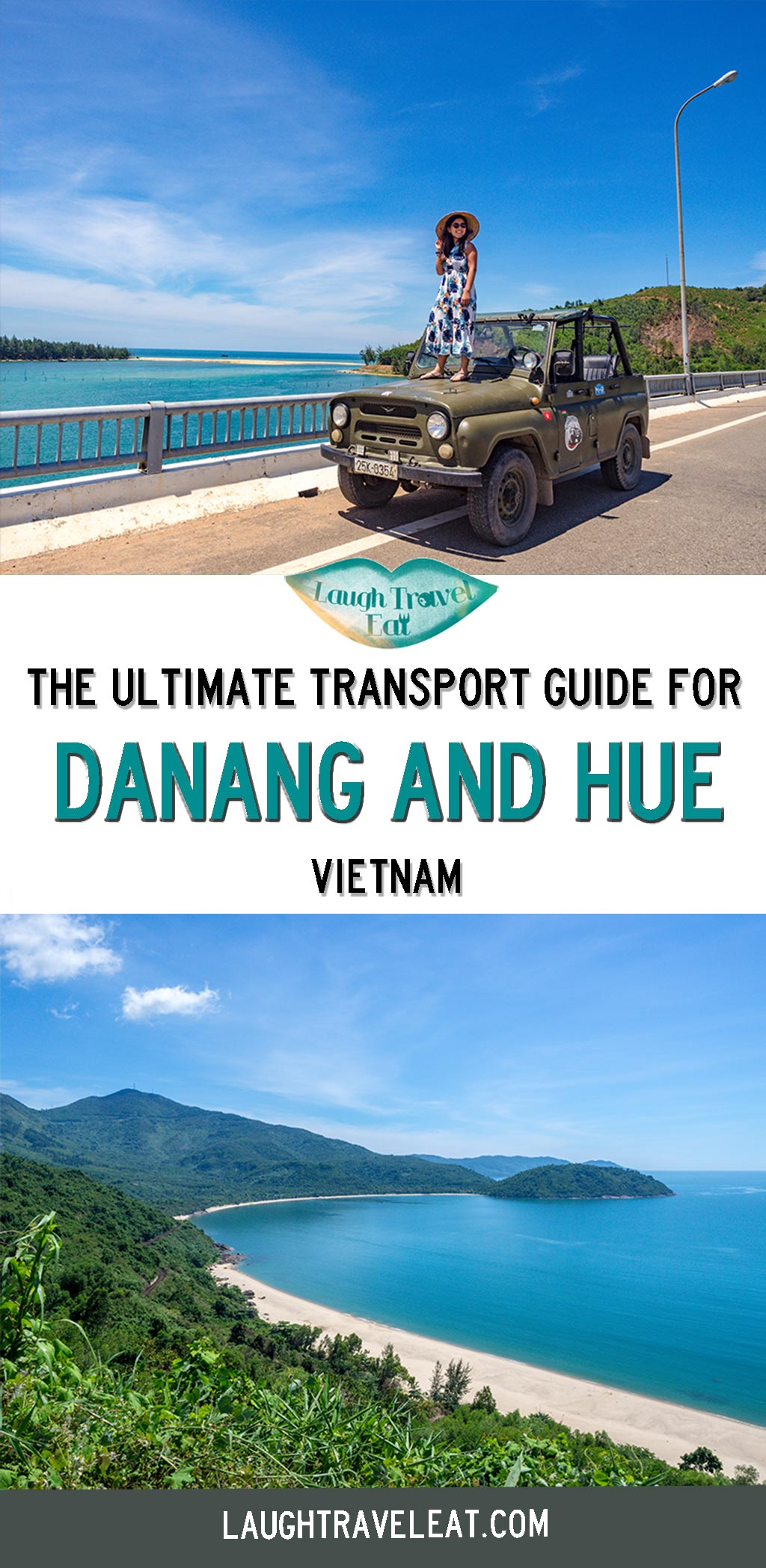 Da nang to Hue is a popular route and there are many ways to navigate this two hour journey. With with the famous Hai Van Pass between, you might just want to take the scenic route. Regardless of your time or budget, here are all the transport option between Da nang and Hue for you: #Danang #Hue #Vietnam