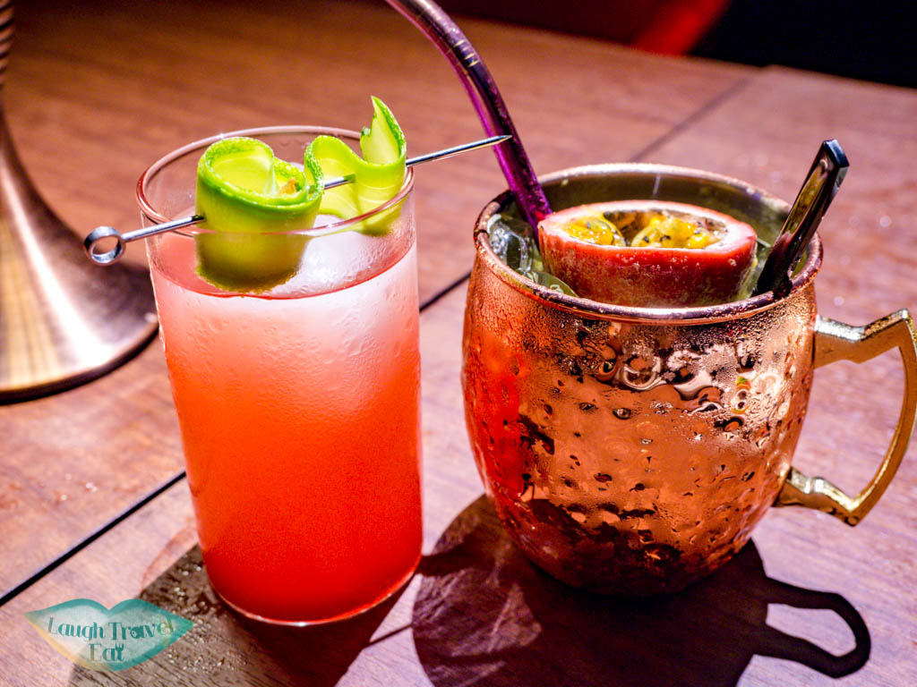 mocktails f29 restaurant danang vietnam - laugh travel eat