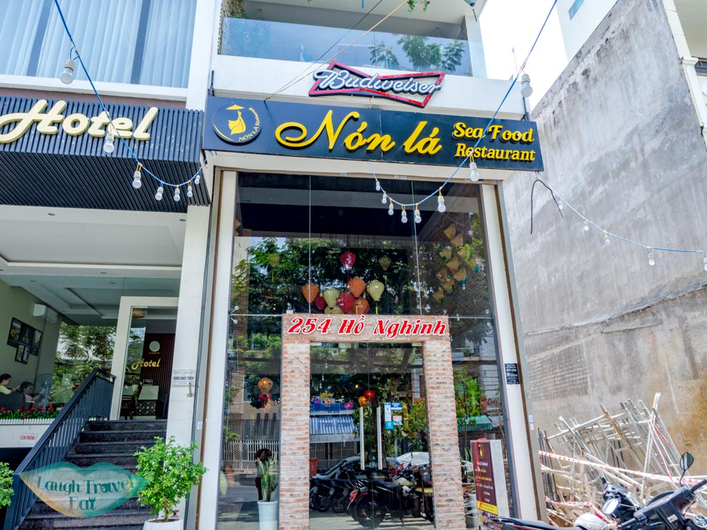 non la seafood restaurant danang vietnam - laugh travel eat