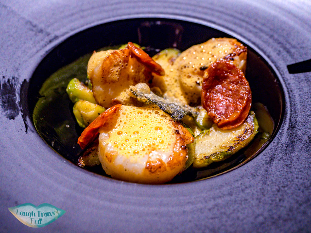 scallops f29 restaurant danang vietnam - laugh travel eat