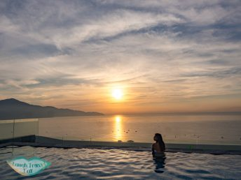 sunrise pool view belle maison parosand danang vietnam - laugh travel eat