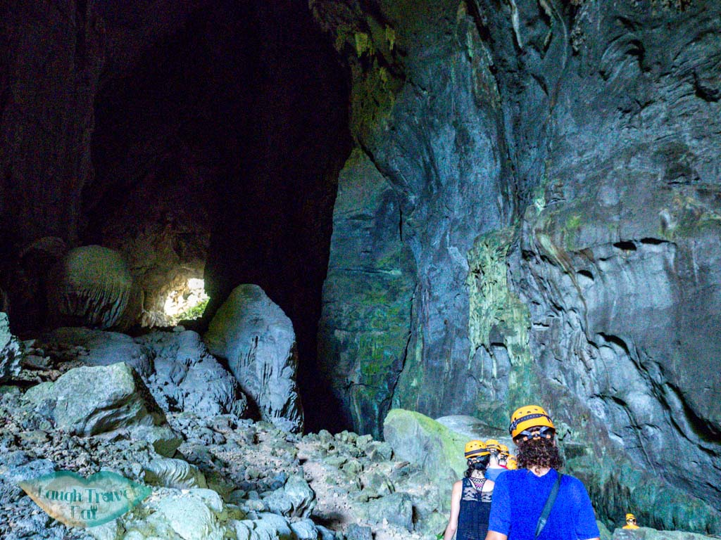 to turtle entrance elephant cave phong nha vietnam - laugh travel eat