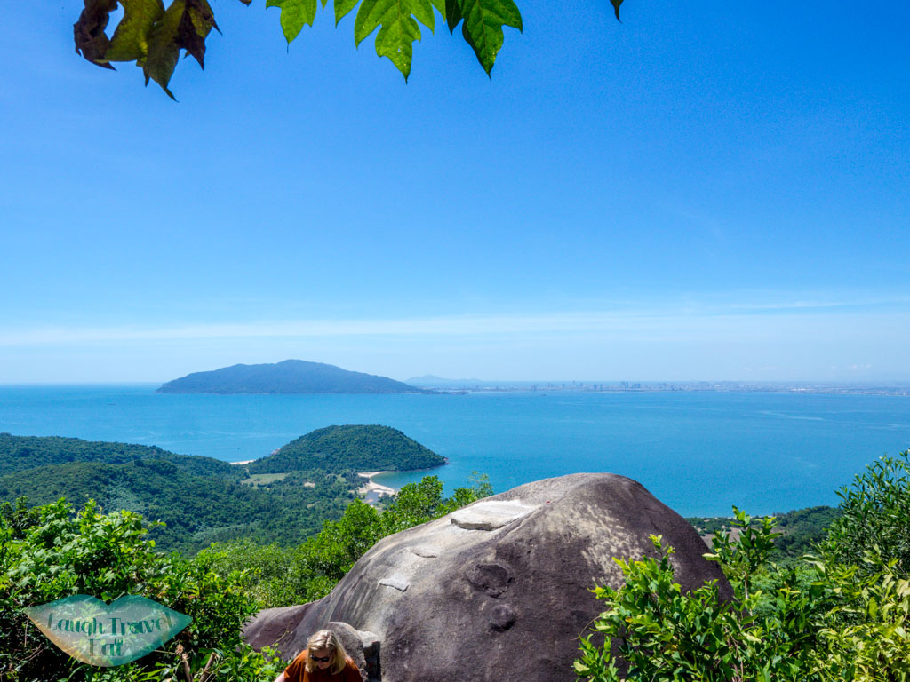turtle rock Hai van pass vietnam - laugh travel eat