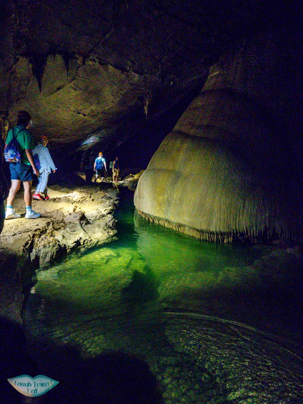 underground water paradise cave phong nha ke bang vietnam - laugh travel eat