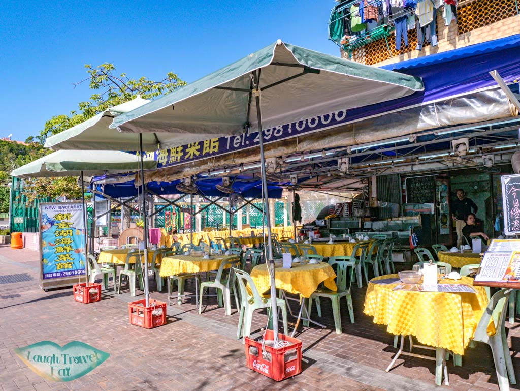 New Baccarat Seafood Restaurant cheung chau hong kong - laugh travel eat