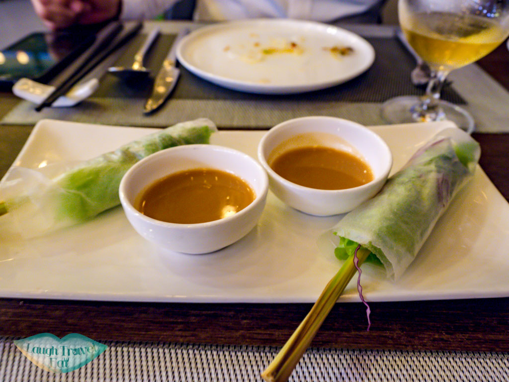 courses at nem restaurant belle maison parosand danang vietnam - laugh travel eat