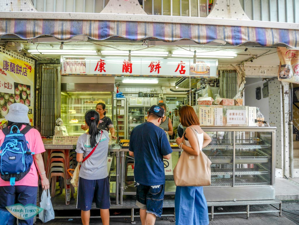 egg tarts store Cheung Chau, Hong Kong - Laugh Travel Eat