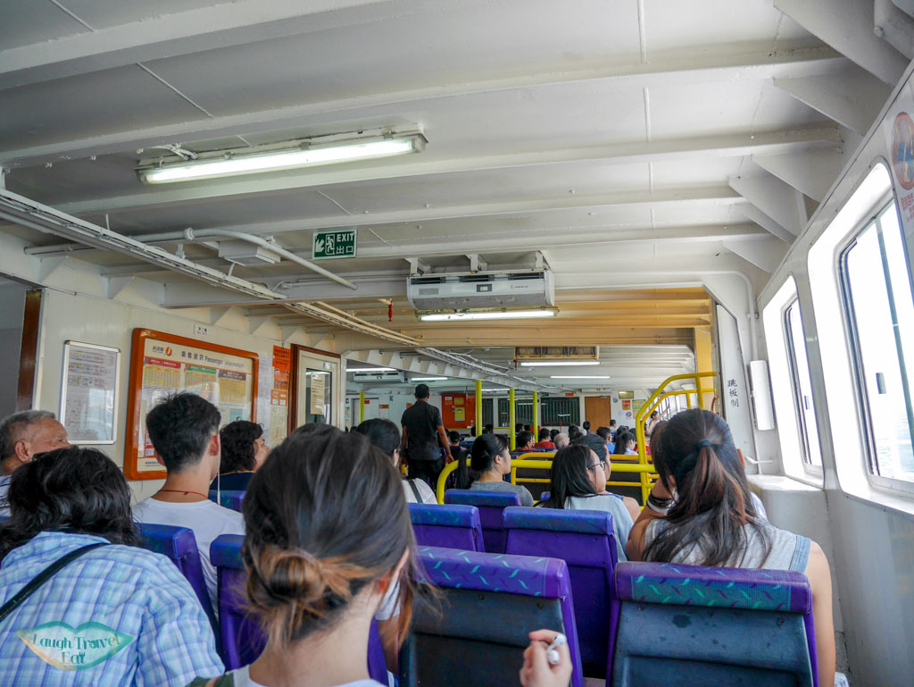 ferry from central to Cheung Chau, Hong Kong - Laugh Travel Ear