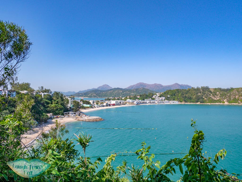 view from mini great wall cheung chau hong kong - laugh travel eat