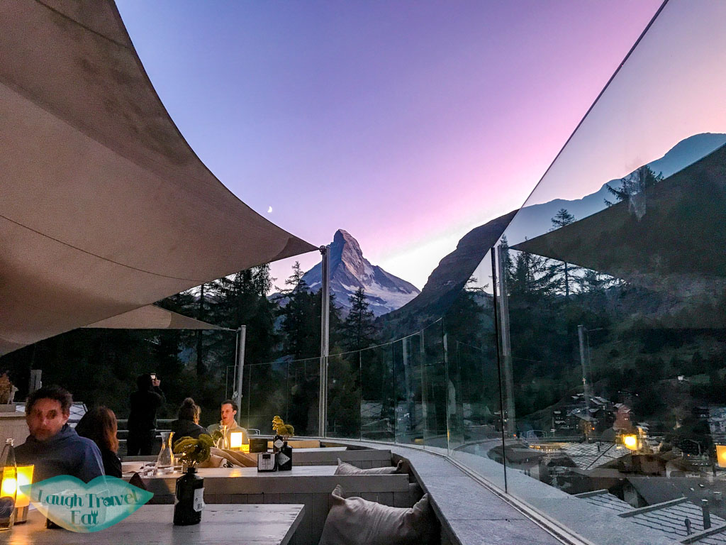Cervo Puro restaurant Zermatt Switzerland - laugh travel eat