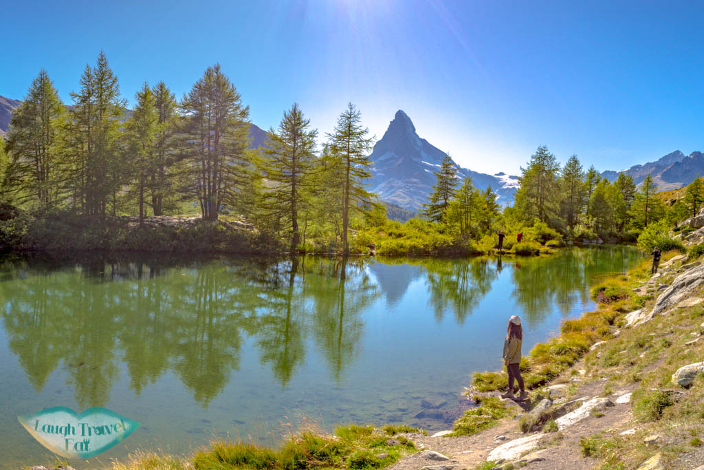 Grindjisee five lake hike Zermatt Switzerland - laugh travel eat
