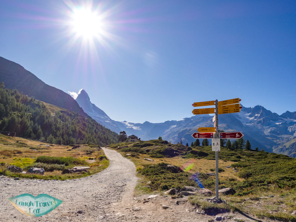 Grunsee to Mosjessee zermatt switzerland - laugh travel eat
