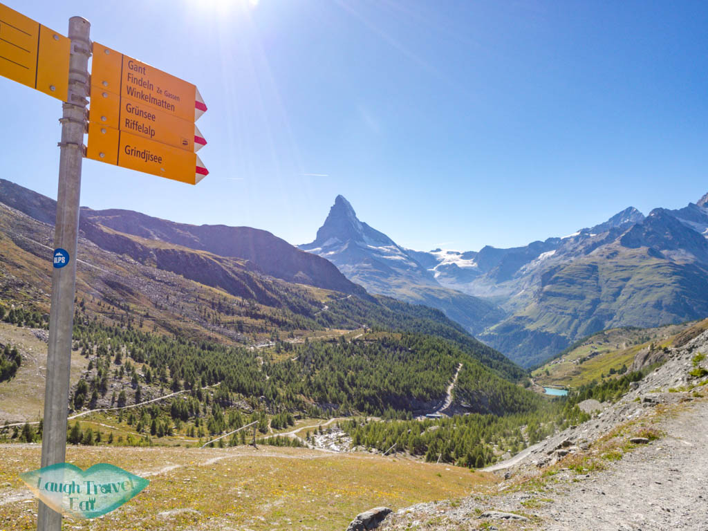 Stellisee to Grindjisee zermatt switzerland - laugh travel eat
