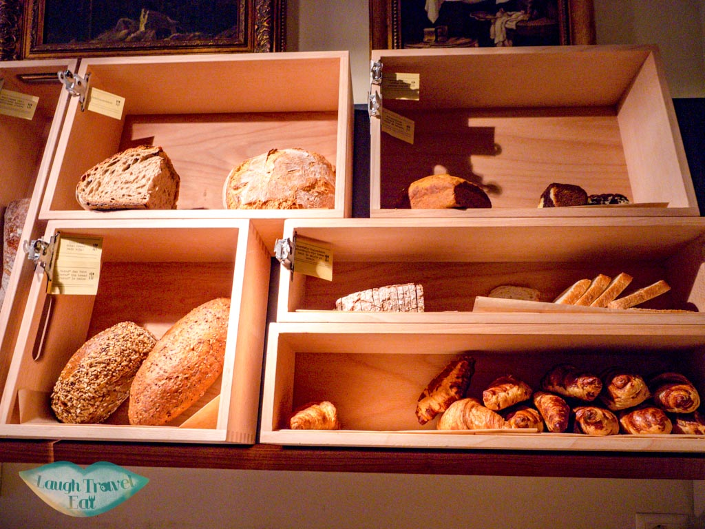 bakery selection breakfast Cervo Zermatt Switzerland - laugh travel eat