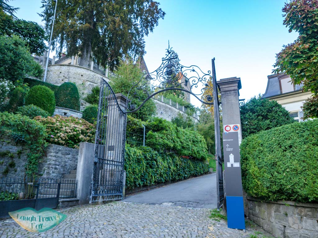 gate of the Musegg Wall and Towers lucerne switzerland - laugh travel eat