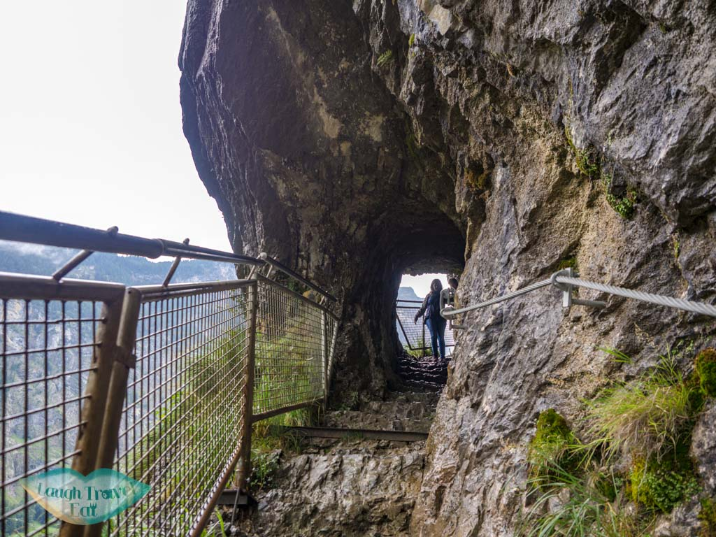 going up staubbach waterfall lauterbrunnen switzerland - laugh travel eat-2