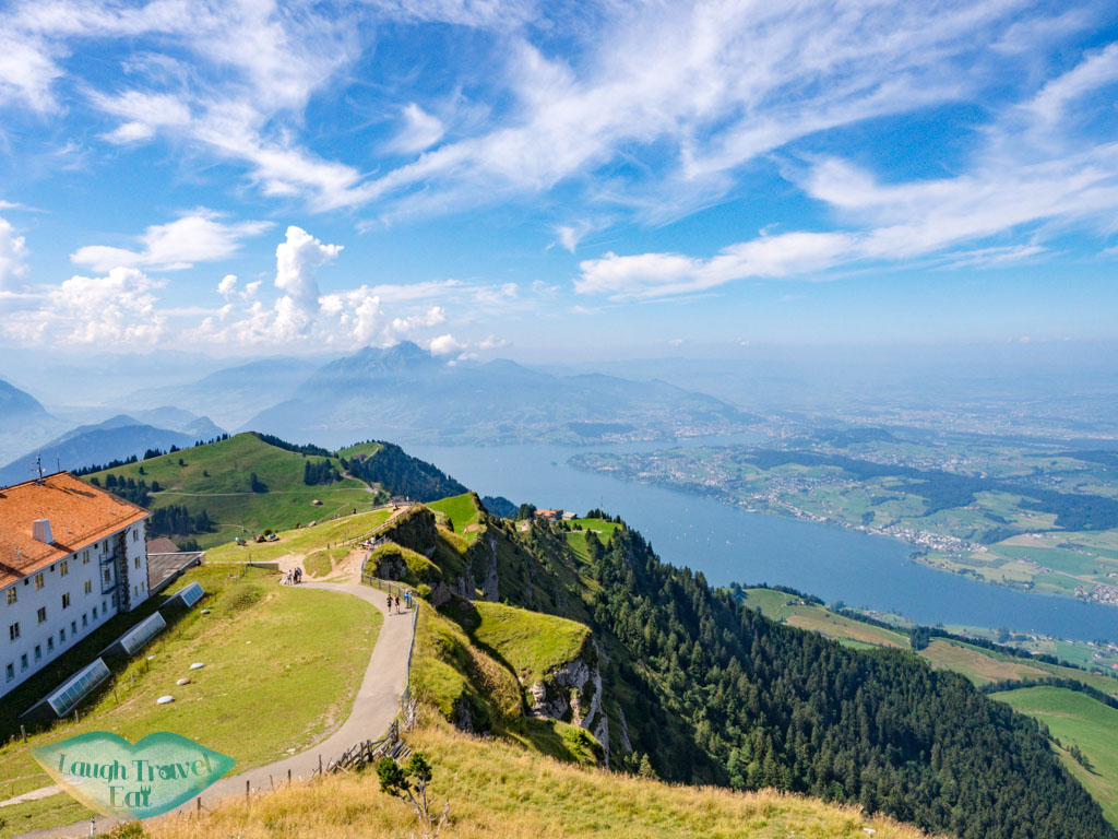 lake lucerne view from rigi kulm lucerne switzerland - laugh travel eat