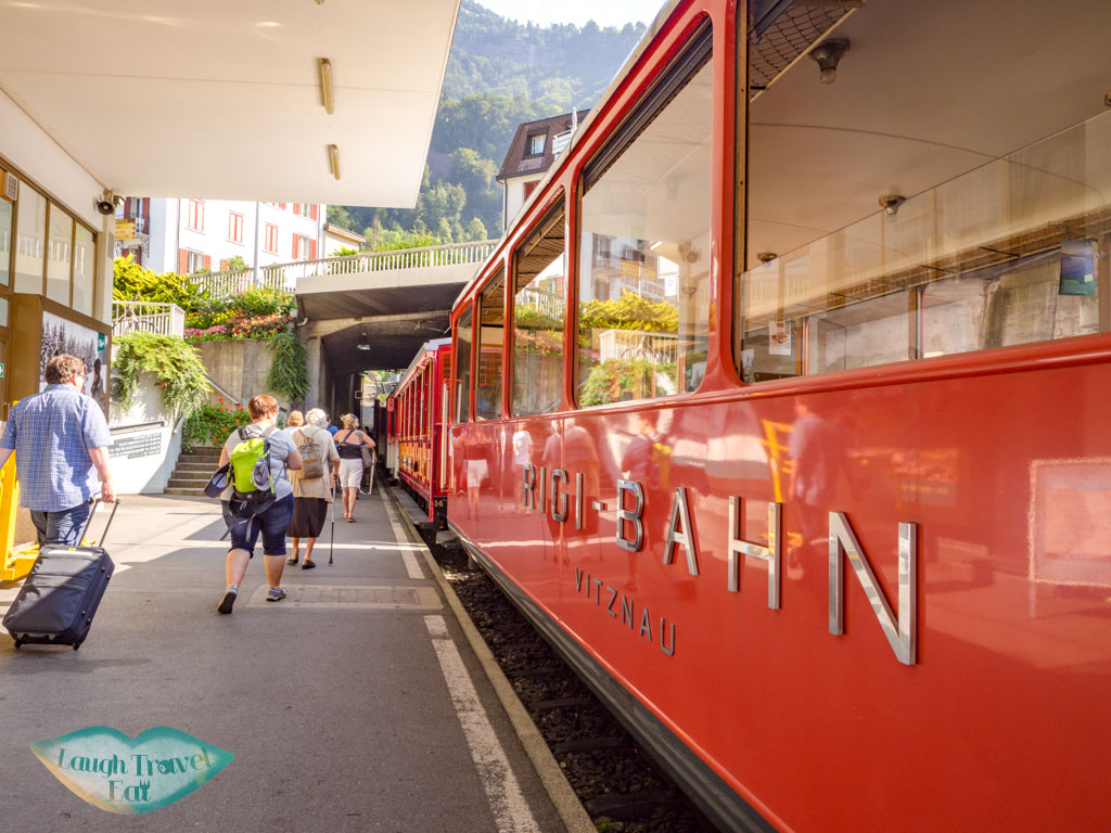 rigi bahn lucerne switzerland - laugh travel eat