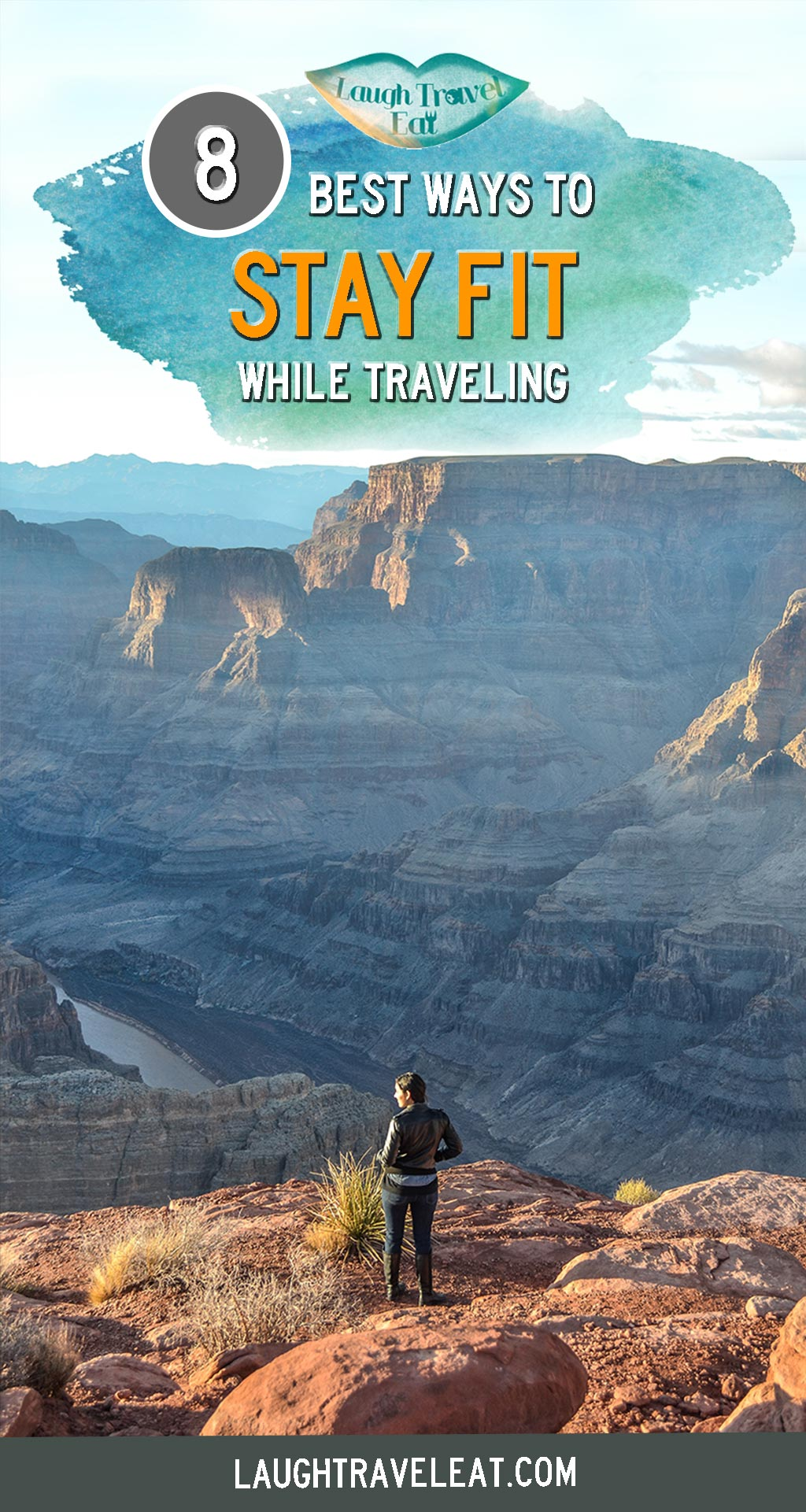 Exercising or staying fit when traveling, or just in general around a busy schedule, can be difficult. For those of us who are constantly on the move, here are some tips on staying fit when traveling - or if you have a busy schedule #Traveling #travel #Fit