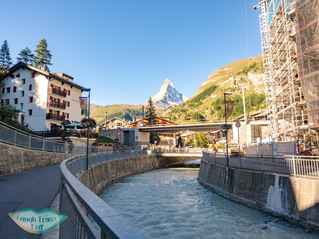 town of zermatt switzerland - laugh travel eat