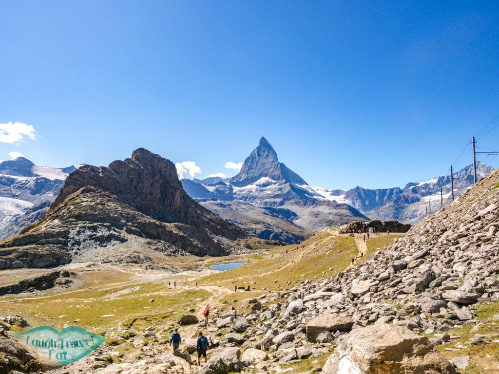 view from riffelberg station zermatt switzerland - laugh travel eat