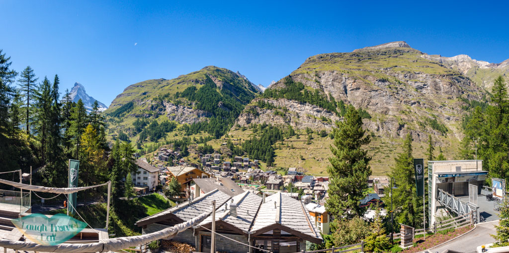 view o fCervo Zermatt Switzerland - laugh travel eat