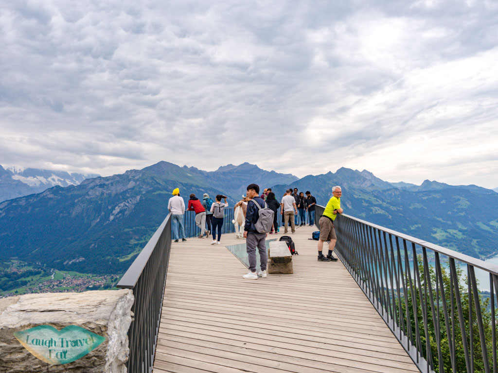 viewing platform harder kulm interlaken switzerland - laugh travel eat