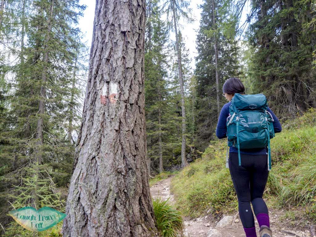 after first fork lake sorapis hike cortina d'ampezzo dolomites italy - laugh travel eat-2