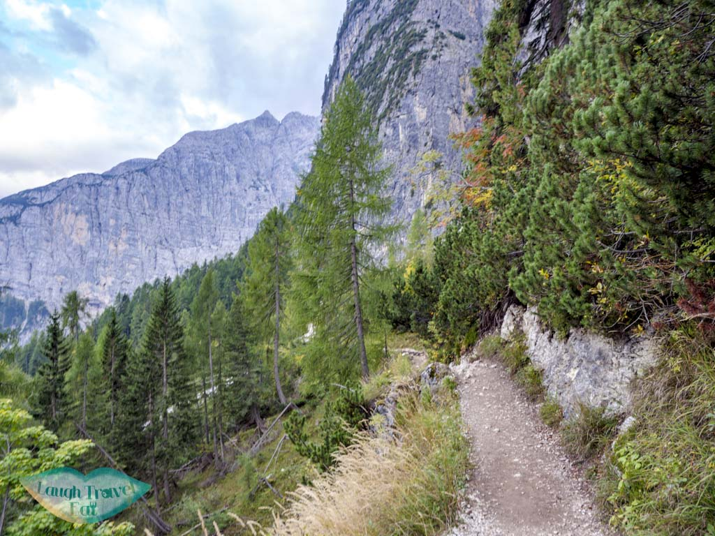 after first fork lake sorapis hike cortina d'ampezzo dolomites italy - laugh travel eat-5
