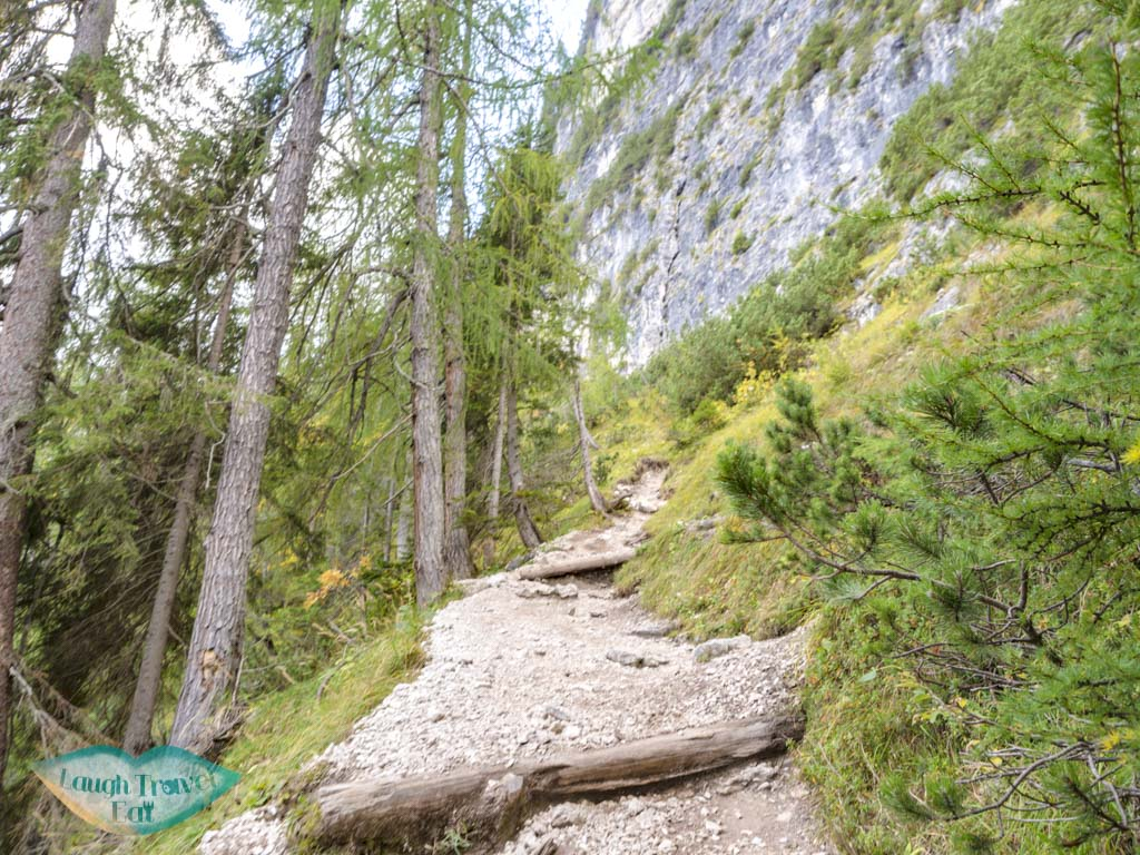 after first fork lake sorapis hike cortina d'ampezzo dolomites italy - laugh travel eat-7