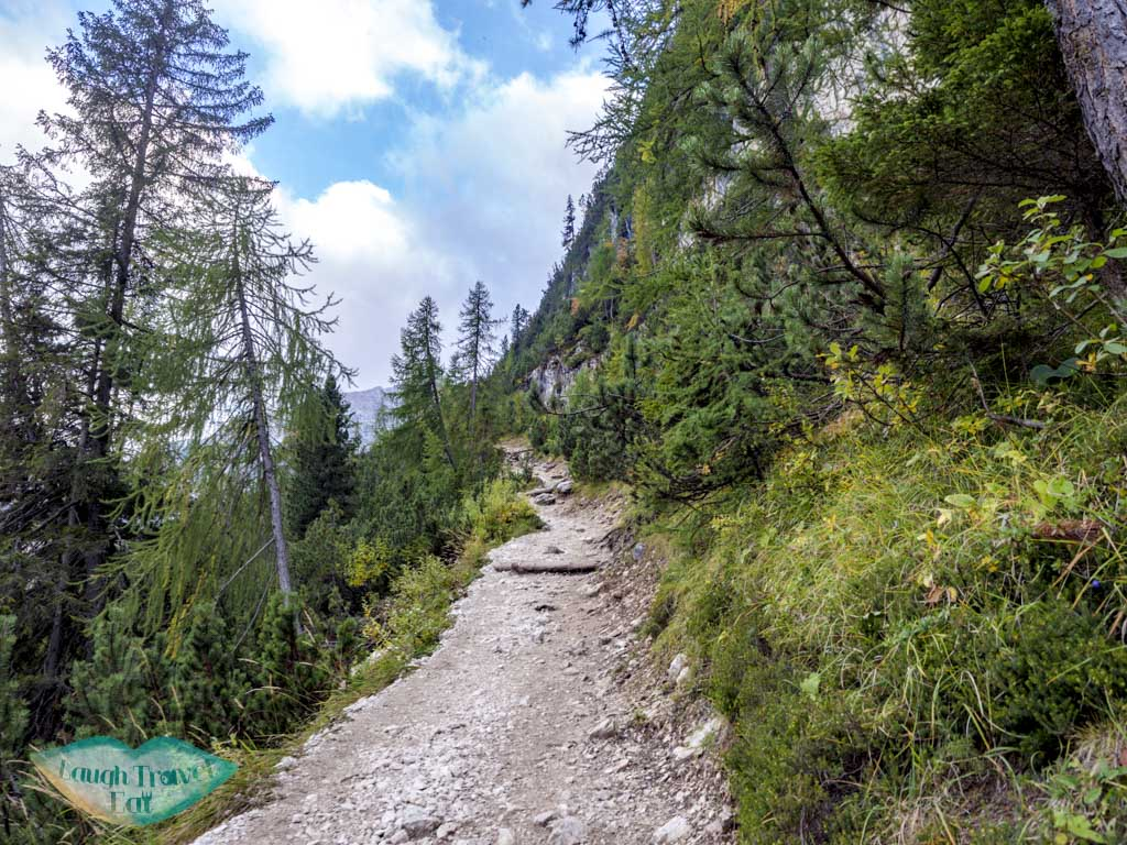 after first fork lake sorapis hike cortina d'ampezzo dolomites italy - laugh travel eat-8
