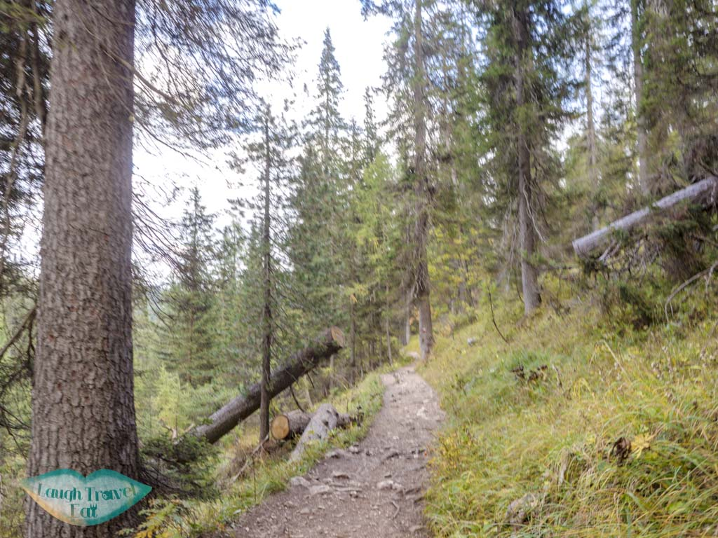 after first stream lake sorapis hike cortina d'ampezzo dolomites italy - laugh travel eat-2