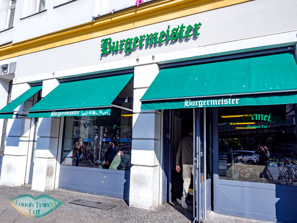 burgermeister Kotbusser Tor berlin germany - laugh travel eat