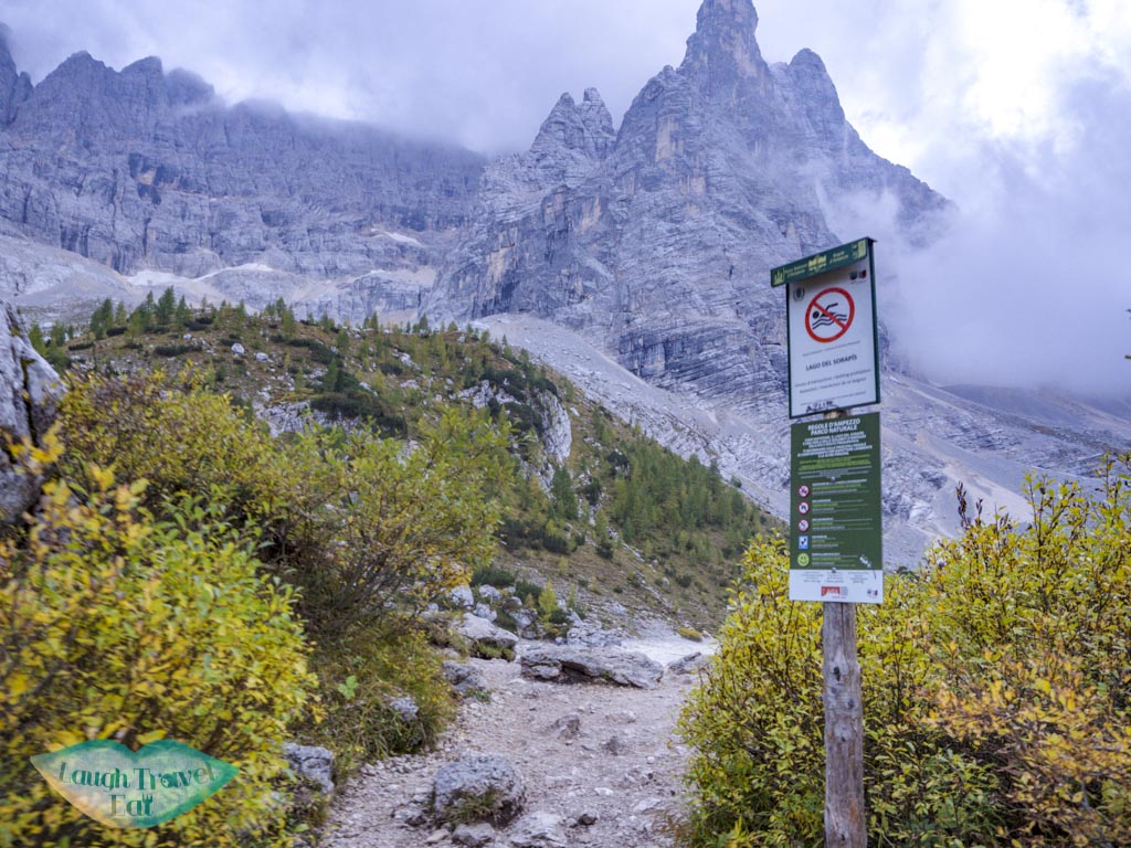 by lake sorapis hike cortina d'ampezzo dolomites italy - laugh travel eat-2
