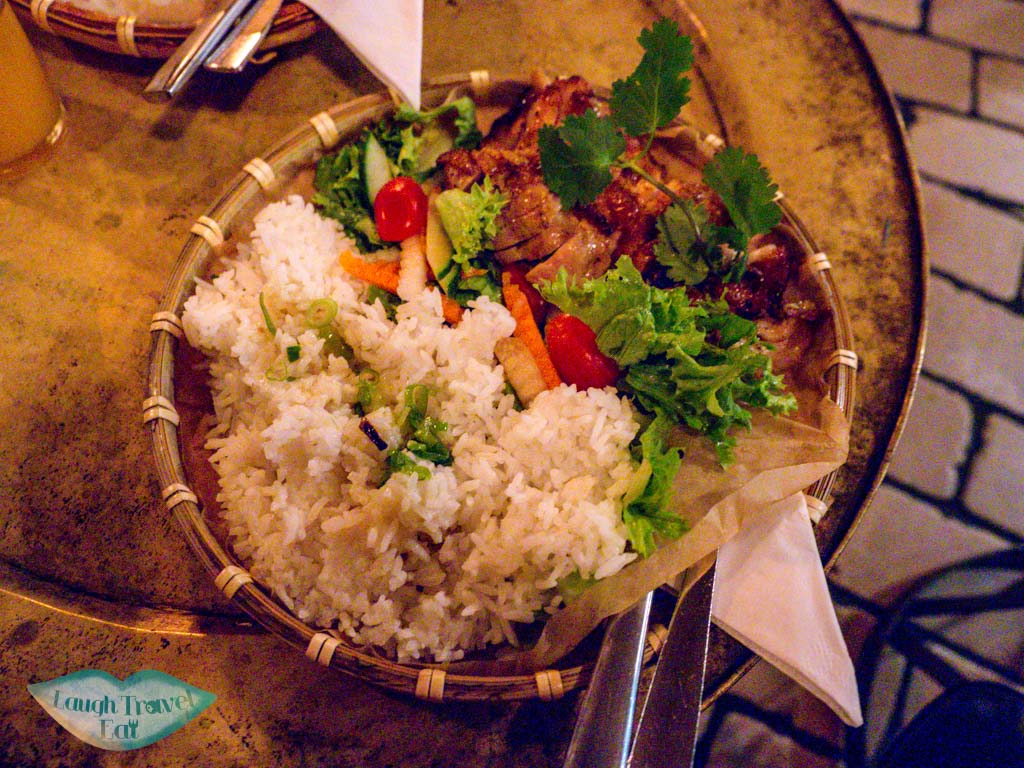 honey chicken rice qua phe berlin germany - laugh travel eat