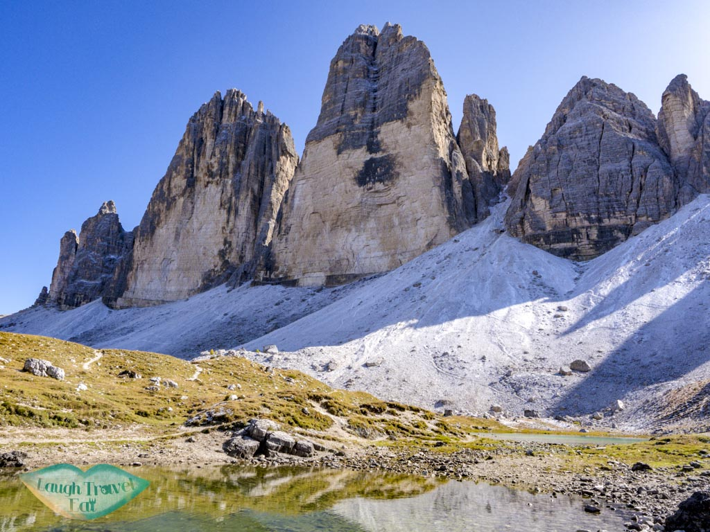 lake by tre cime dolomites italy - laugh travel eat
