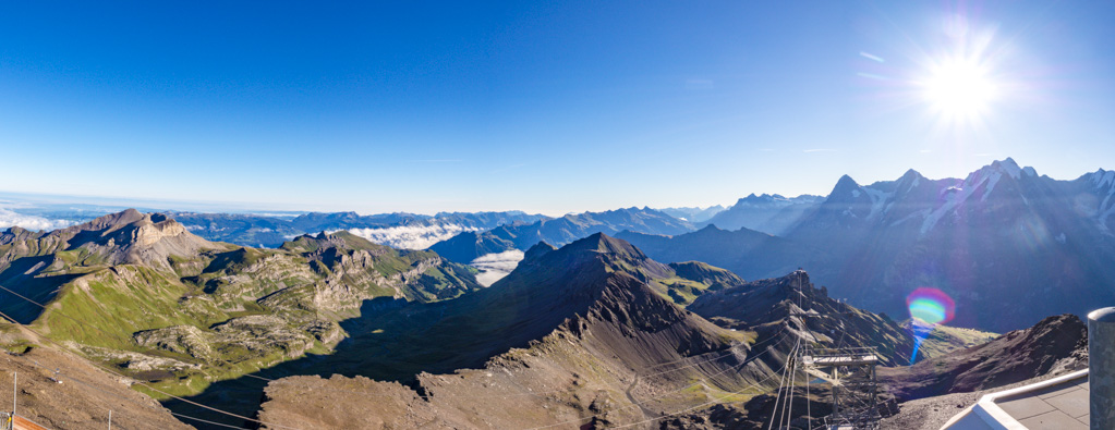 panorama schilthorn jungfrau region Switzerland - laugh travel eat
