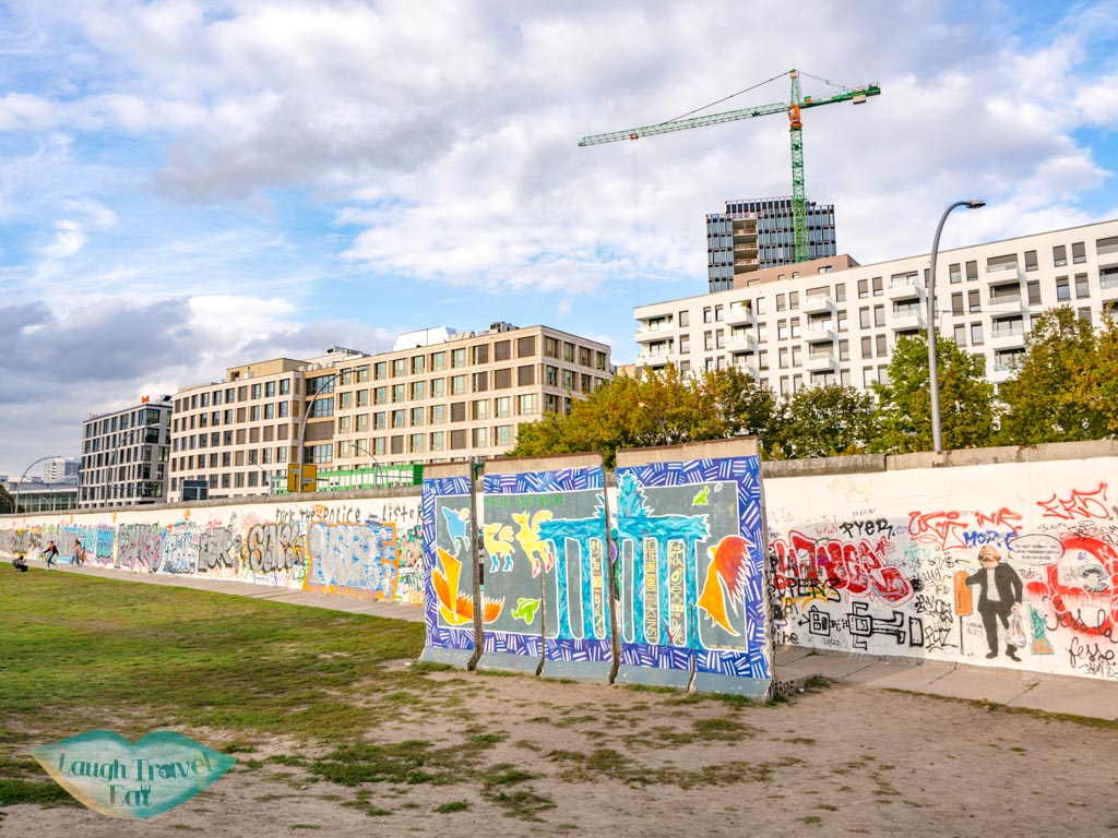 riverside of east side gallery berlin germany - laugh travel eat