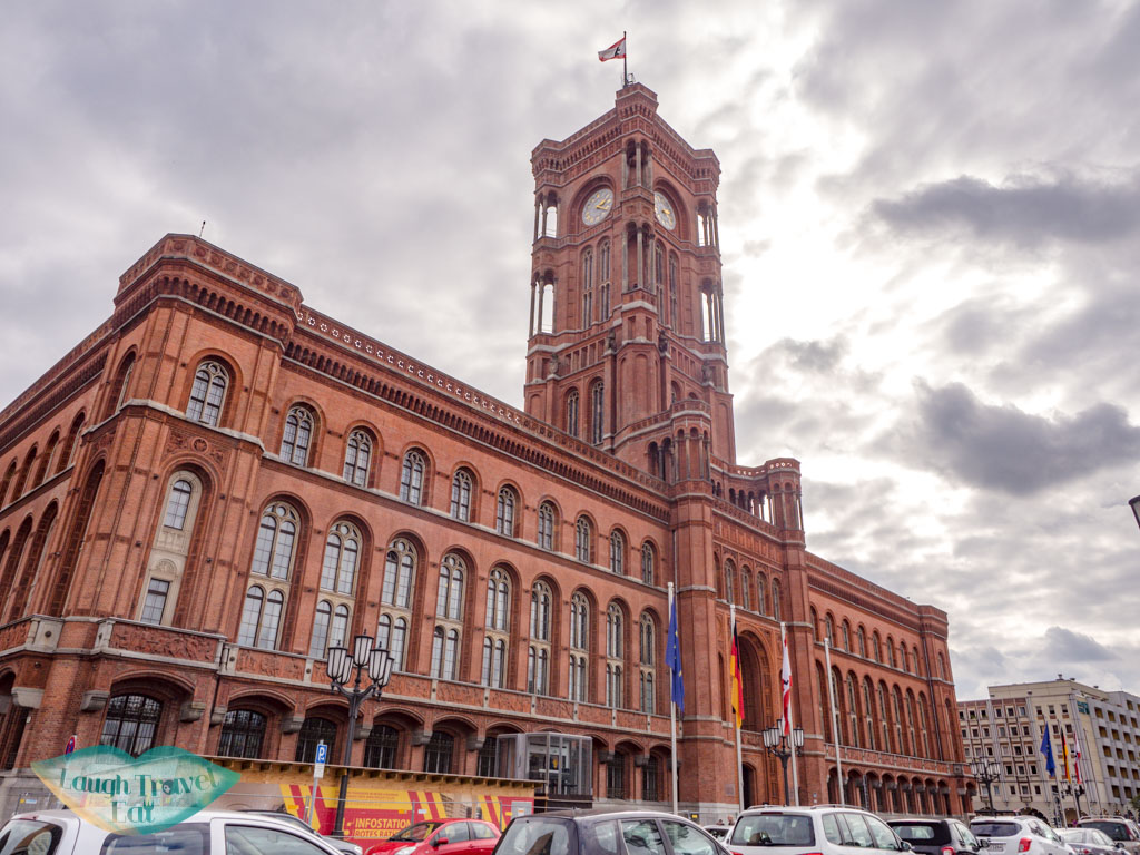 rotes rathaus alexanderplatz berlin germany - laugh travel eat