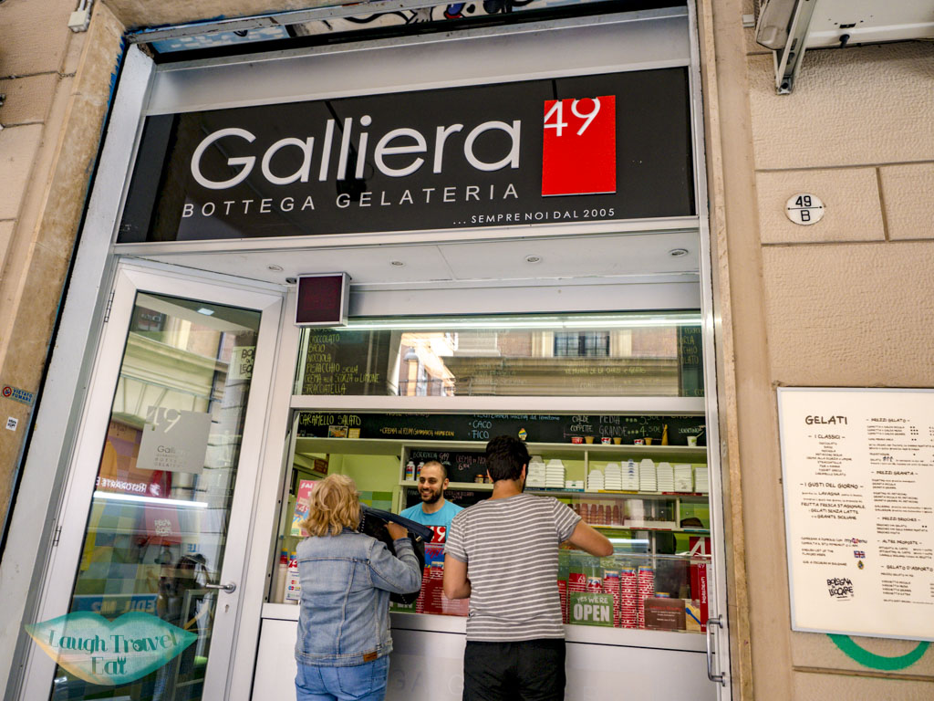 Gelateria Galliera 49 bologna italy - laugh travel eat