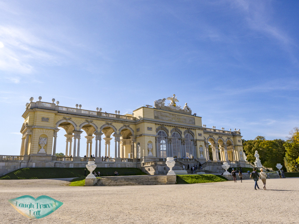Gloriette schobrunn palace vienna austria - laugh travel eat