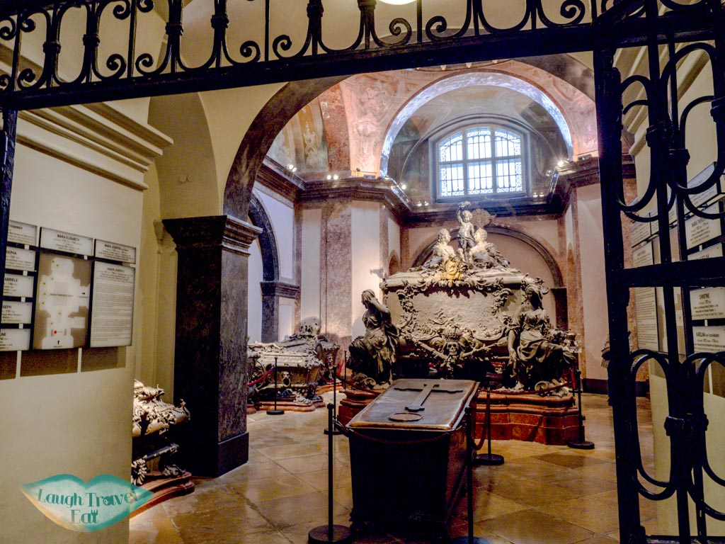 Kapuzinergruft royal crypt vienna austria - laugh travel eat