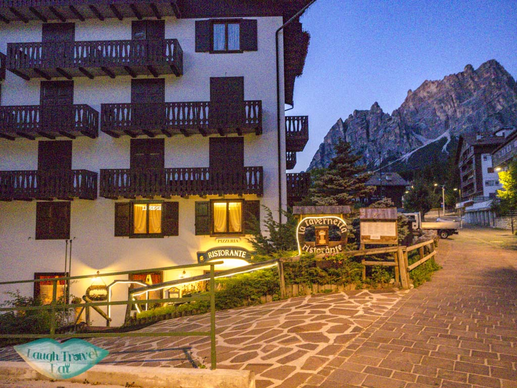 La Tavernetta cortina d'ampezzo italy - laugh travel eat