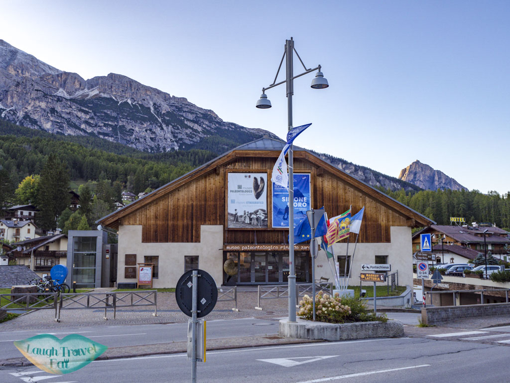 Rinaldo Zardini Palaeontology Museum cortina d'ampezzo italy - laugh travel eat