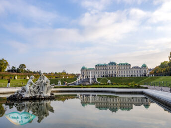 belvedere vienna austria - laugh travel eat