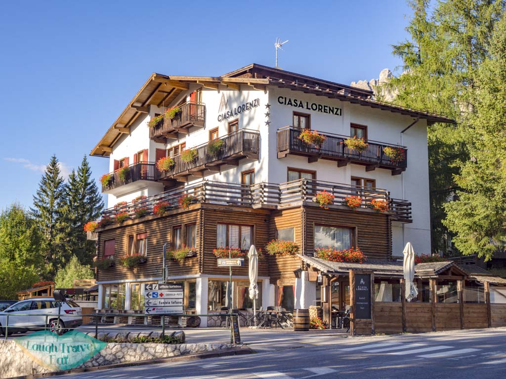 ciasa lorenzi cortina d'ampezzo italy - laugh travel eat
